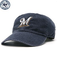 MLB ブルワーズ ゲーム クリンナップキャップ(ジュニア) Milwaukee Brewers Game Youth Cleanup Adjustable Cap