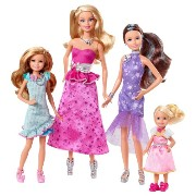 Barbie and Her Sisters バービー フィギュアセット in a Pony Tale Gala Gown Giftset