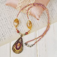 ◆TOHOビーズキット ACCESSORIES COLLECTION Styling necklace AC-118◆トーホー アクセサリーコレクション スタイリングネックレス
