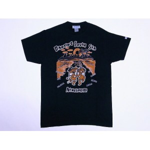 SUN SURF[サンサーフ] Tシャツ DANCING SOUTH SEA ATOMOSPHERE SS75473 (BLACK)