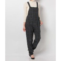 ★dポイントが貯まる★【SHIPS OUTLET(シップス アウトレット)】【SHIPS for women】ILIAN.L:CHK OVERALL【dポイントでお得に購入】