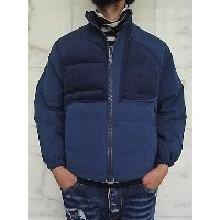 PORTER CLASSIC(ポータークラシック)【WEATHER】WEATHER DOWN JACKET☆BLUE★