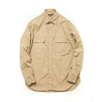 A VONTADEアボンタージTypewriter Mac Shirts-KHAKI-