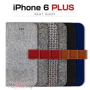 その他 araree iPhone6 Plus Neat Diary ヘリンボーン ds-1822943