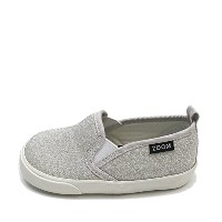 ZOOM Baby Slip-on シルバー 14cm