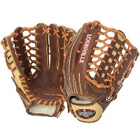 "Louisville Slugger Omaha Pure Gloves, Brown, 12.75"", Right Hand Throw [並行輸入品]"