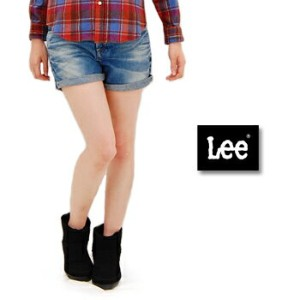 【FW】Lee リー レディース HERITAGE VINTAGE BOYS SHORTS ユーズド[LL9120]