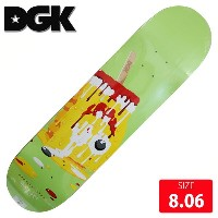 DGK デッキ ディージーケー デッキ MELTED MARQUISE HENRY DECK 8.06 DGD-429 skatebaord スケートボード