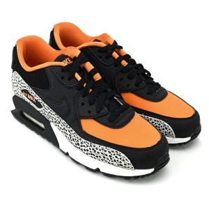 NIKE AIR MAX 90 SAFARI GS SUMMIT WHITE/BLACK-CLAY ORANGE ナイキ エア マックス 90 サファリ
