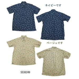"Sun Surf(サンサーフ)""HURA DANCER""TWILL S/S B.D. Shirt2013年モデルss36249-13SS"