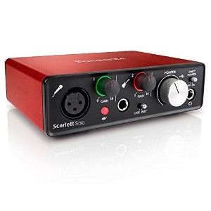 Focusrite Scarlett Solo G2 2in 2out 24bit 192kHz USBオーディオインターフェイス