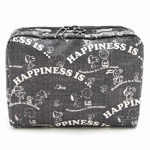 LeSportsac レスポートサック ポーチ 7121 EXTRA LARGE RECTANGULAR COSMETIC G058 HAPPINESS ALLOVER [並行輸入商品]