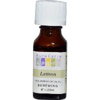 Essential Oil - Lemon - 0.5 fl oz by Aura Cacia