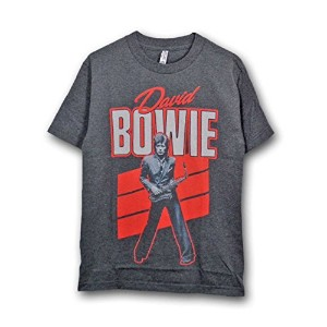 David Bowie Tシャツ デヴィッド・ボウイ Red Sax S