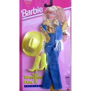 Barbie バービー ビンテージモデル 1994年 着せ替え Western Fun Fashions w Cowgirl Hat & Boots! (1994 Easy to Dress)