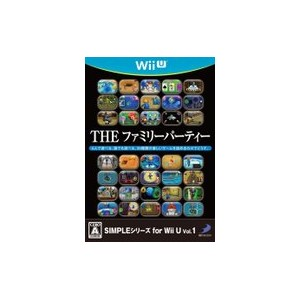 SIMPLEシリーズ for Wii U vol.1 THE ファミリーパーティー 【中古】 WiiU ソフト WUP-P-AFPJ / 中古 ゲーム