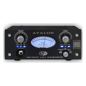 【送料無料】AVALON V5 Black [High Voltage ClassA DI-RE-Preamplifier]