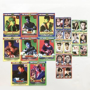 SM Town EXO The Power of Music The War Repackage album Photocard Set (24P)