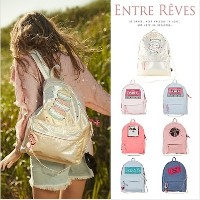 [ENTRE REVES] 芸能人愛用!SNSで人気  BACKPACK / アントレブ / 実用性も可愛さも♪