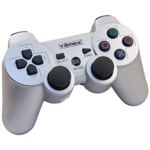 PS3 Tomee Wireless Controller - Silver (輸入版)