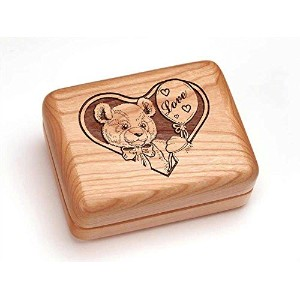 "Hingedボックス4 x 3 "" – Teddy Bear in Love"