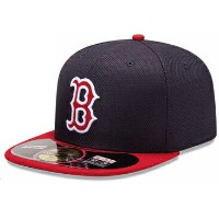 NEW ERA BOSTON RED SOX 【DIAMOND ERA BATTING PRACTICE GAME/NAVY-RED】 ニューエラ ボストン レッドソックス 59FIFTY...