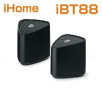スピーカー/iHome iBT88 Bluetooth Rechargeable Mini Stereo Speaker System アイホーム iBT88 スピーカー米国正規商品【smtb-tk】