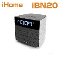 【海外 お取り寄せ】bluetoothスピーカー/iHome iBN20 GC Bluetooth Wireless FM Clock Radio with USB Charging アイホーム...