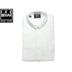 【期間限定30%OFF!】IKE BEHAR (アイクベーハー)/#MF1501LB FREED0M FIT L/S B.D OXFORD SHIRTS/white