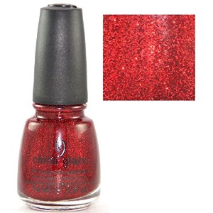 CHINA GLAZE Nail Lacquer with Nail Hardner Ruby Pumps (並行輸入品)