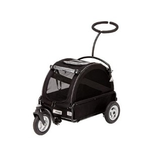 【air buggy for dog(エアバギー)】キューブ(TWINKLE) ブラック (AirBuggy for Dog CUBE TWINKLE)