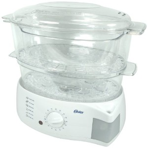 Oster 5711 Mechanical Food Steamer, White by Oster