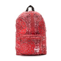 【60%OFF】DAYPACK プリント バックパック レッドバンダナ 旅行用品 > その他