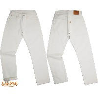 SUGAR CANE/シュガーケーンMade in U.S.A.13oz. STAR JEANS米国製13オンス、スターホワイトジーンズWHITE(ホワイト)/SC41115