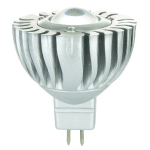 Sunlite mr16 / 1led / 5 W / gu5.3 / 12 V / CW LED 12-volt 5-watt gu5.3 based mr16ランプクール MR16/1LED...