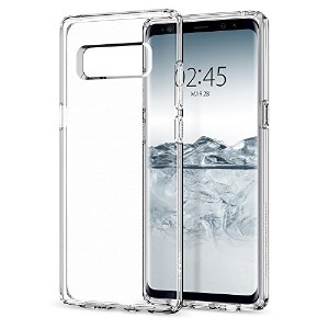 【Spigen】 Galaxy Note 8 ケース, [ ソフトTPU クリア ] リキッド・クリスタル ギャラクシーノート8 用 カバー (Galaxy Note 8, クリスタル・クリア)