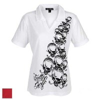 TattooGolf Ladies OB High Performance V-Neck Polo Shirts【ゴルフ 特価セール】