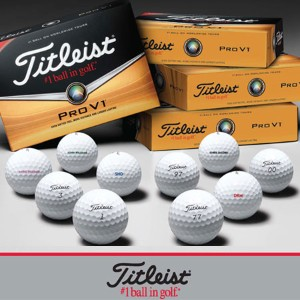 Titleist Special Offer from Titleist on Pro V1 Golf Balls【ゴルフ 特注/オーダーメイド>特注-ボール】