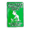 San Diego Gifts Metal Golfers Parking Only Parking Signs【ゴルフ その他のアクセサリー>ホーム/オフィス】
