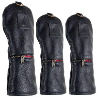 Rose & Fire Classic Series Motorcycle Leather Headcover Sets【ゴルフ アクセサリー>ヘッドカバー】