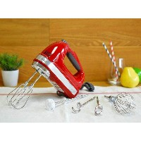 キッチンエイド ハンドミキサー 9スピード KitchenAid KHM926ER Empire Red 9-Speed Hand Mixer【smtb-k】【kb】 【RCP】