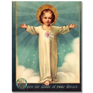 Holy Note Card with Bookmark - Child Jesus
