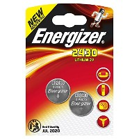 2 pack Energizer CR2430 Lithium Coin Button Cell battery by Energizer [並行輸入品]
