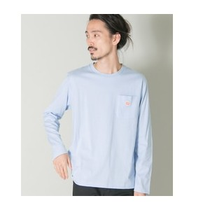 UR Vincent et Mireille POKET LONG-SLEEVE T-SHIRTS【アーバンリサーチ/URBAN RESEARCH メンズ Tシャツ・カットソー BLUE ルミネ...