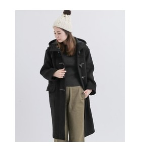 Sonny Label LONDON TRADITION EXTRA OVER SIZE COAT【アーバンリサーチ/URBAN RESEARCH レディス ダッフルコート BLACKBW5 ルミネ...