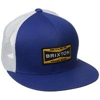 [アメリカ直送] [キャップ] Brixton Men s Fuel Mesh Cap-00431 (Size:One Size|Color:Royal/White)