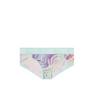 Victoria's Secret PINK(ヴィクトリアシークレット ピンク)LOGO HIPSTER( Mint Frosting Swirl )サイズXS(日本サイズS) [並行輸入品]