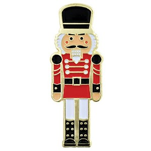 Pinmart 's x-mas Nutcracker Holidayクリスマスラペルピン 1