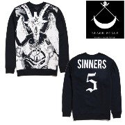 BLACK SCALE Le Satan Fleece BSSP14LK-017 ブラックスケール Tシャツ ASAP JAY-Z