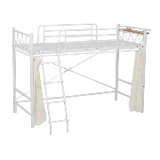 BED ロフトベッド KH-3623WH 【代引不可】【送料無料】